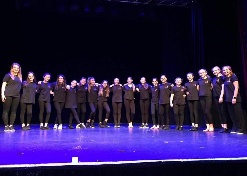 FuZe8 Feeder Class open Christchurch Primary Dance Festival 2019